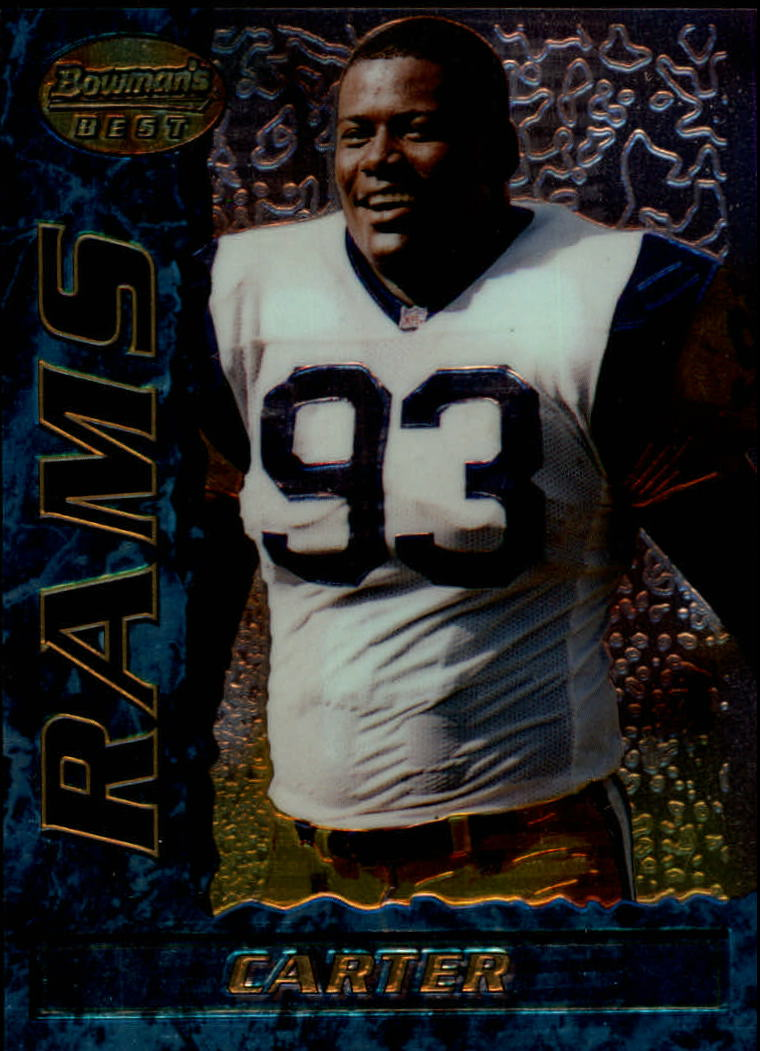 1995 Bowman's Best #R6 Kevin Carter RC