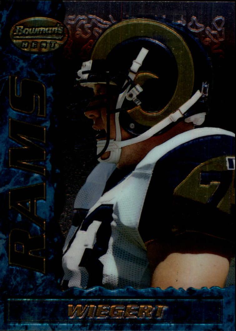 1995 Bowman's Best #R38 Zach Wiegert RC