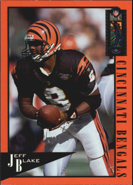 1995 Classic NFL Experience #16 Jeff Blake RC