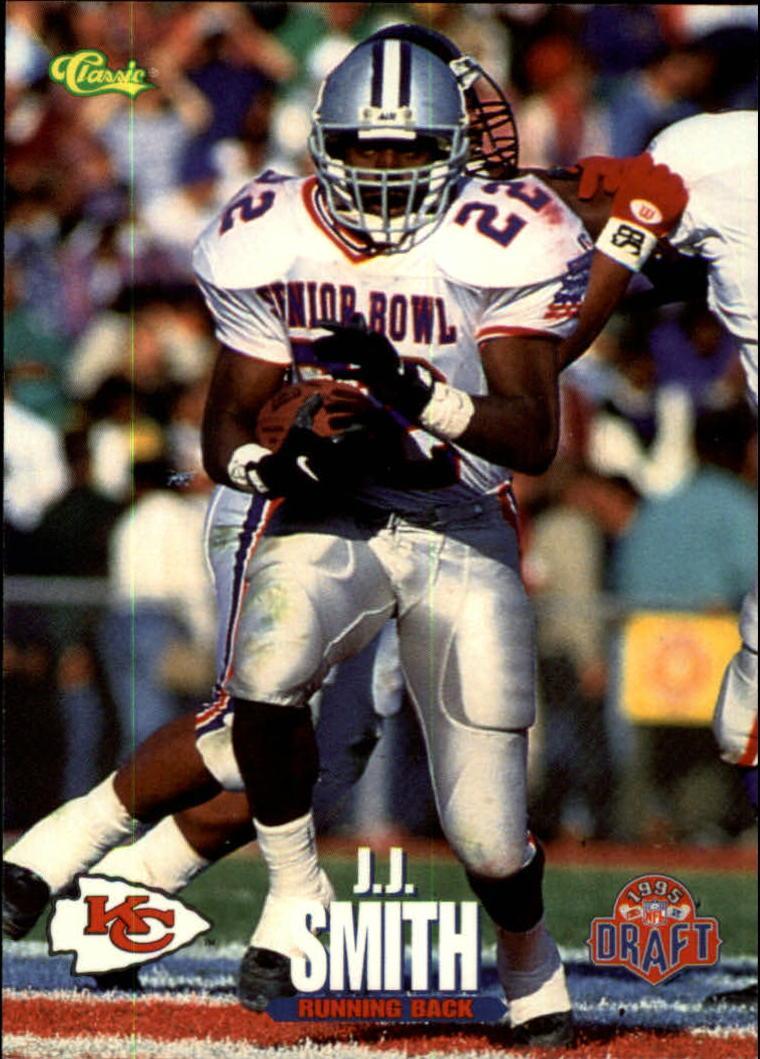 1995 Classic NFL Rookies #35 J.J. Smith
