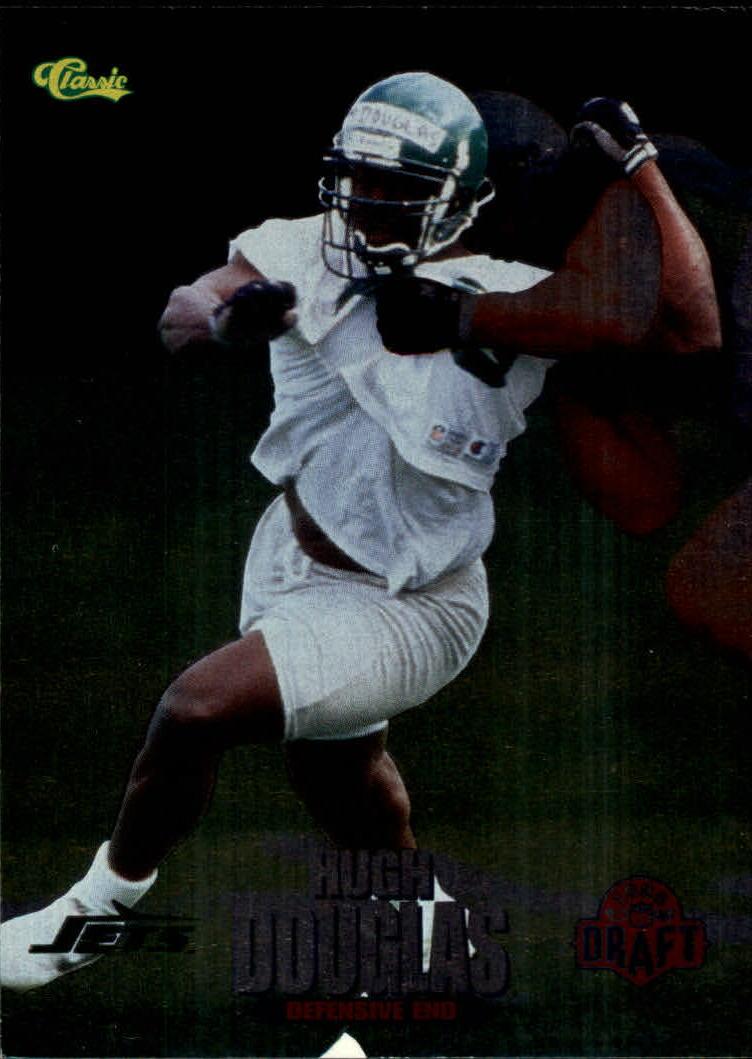 1995 Classic NFL Rookies Silver #16 Hugh Douglas
