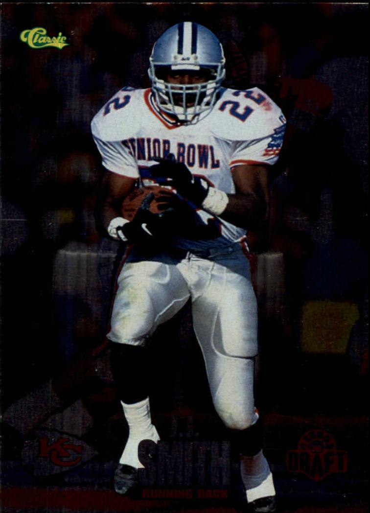 1995 Classic NFL Rookies Silver #35 J.J. Smith