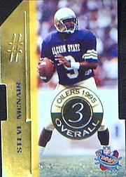 1995 Classic NFL Rookies Die Cuts #3 Steve McNair