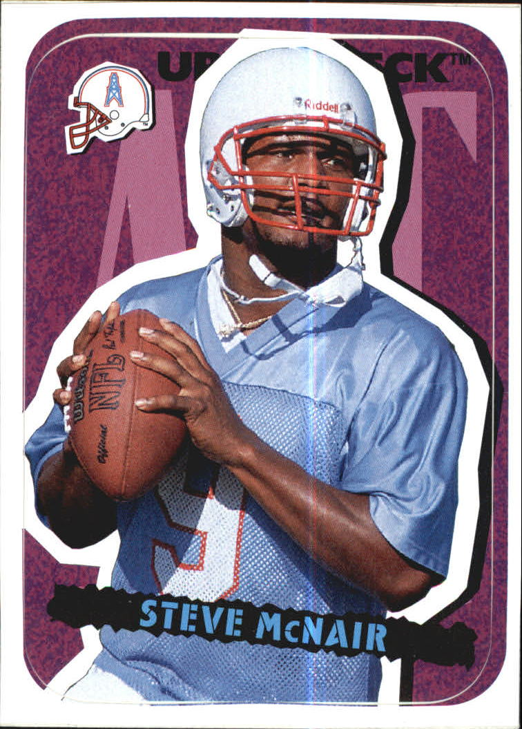 1995 Collector's Choice Update Stick-Ums #23 Steve McNair