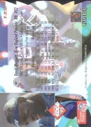 1995 Collector's Edge Die Cuts #132 Dave Meggett back image