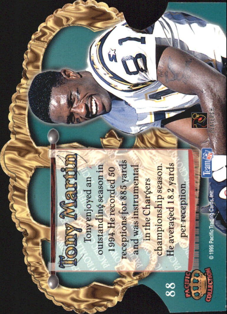 1995 Crown Royale Copper #88 Tony Martin back image