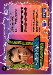 1995 Finest #90 Joe Montana back image