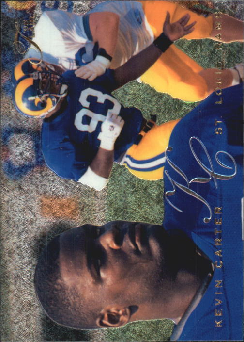 1995 Flair #173 Kevin Carter RC