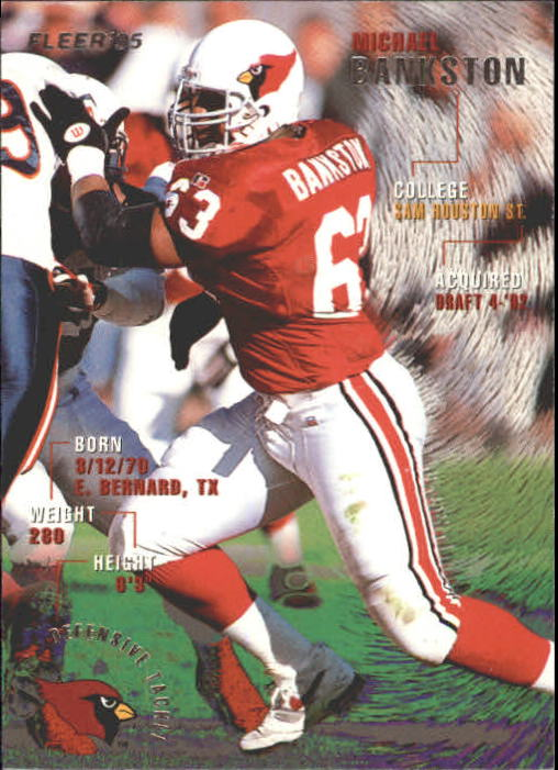 1995 Fleer #1 Michael Bankston