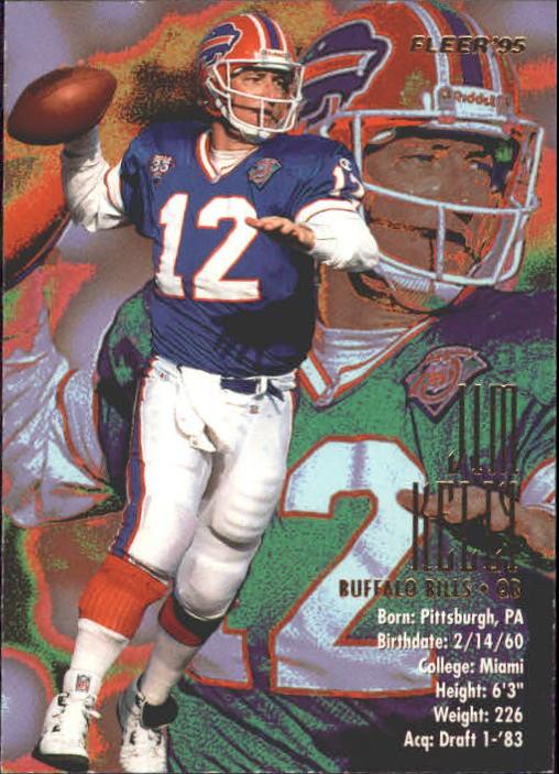 1995 Fleer #35 Jim Kelly