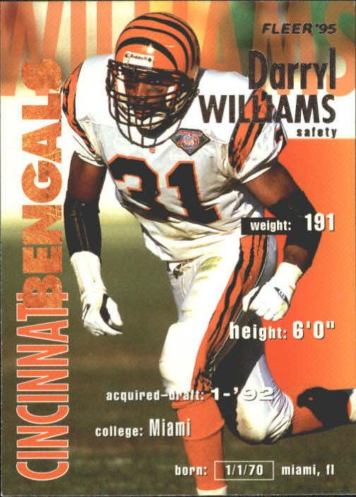 1995 Fleer #74 Darryl Williams
