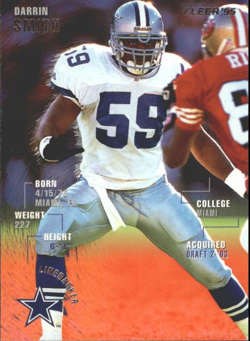 1995 Fleer #99 Darrin Smith