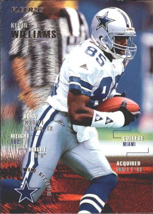 1995 Fleer #103 Kevin Williams WR