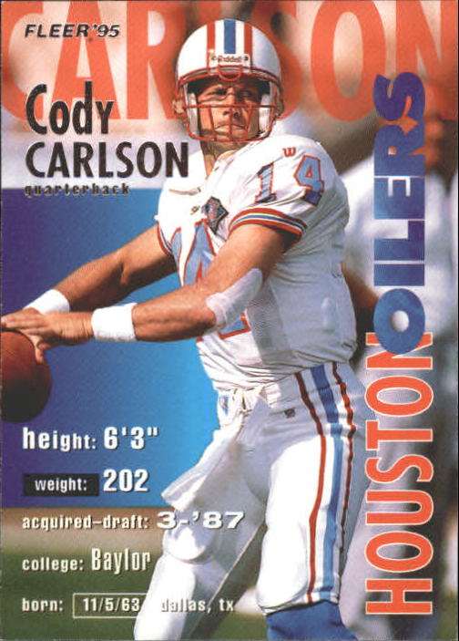 1995 Fleer #144 Cody Carlson