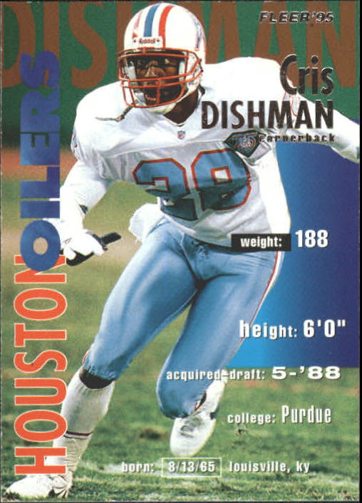 1995 Fleer #146 Cris Dishman