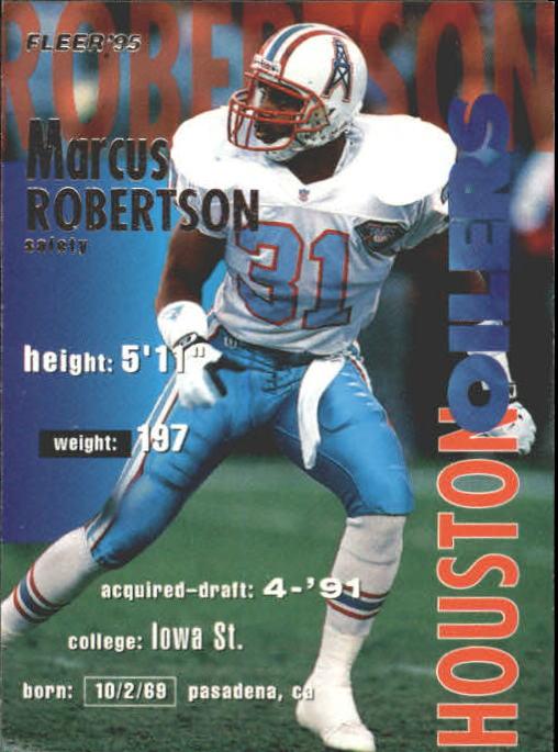 1995 Fleer #151 Marcus Robertson