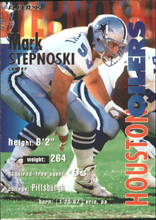 1995 Fleer #154 Mark Stepnoski