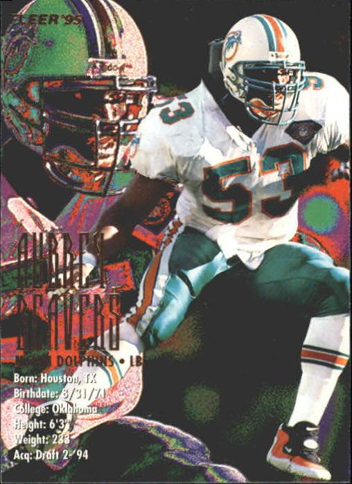 1995 Fleer #214 Aubrey Beavers