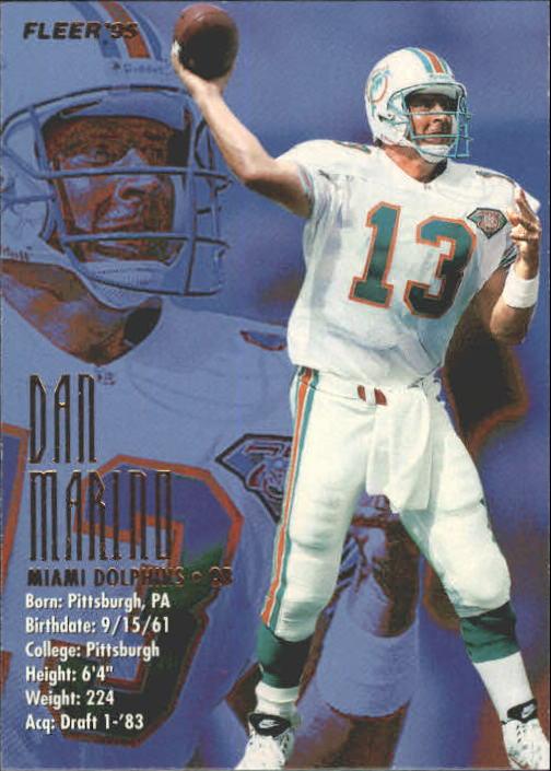 1995 Fleer #222 Dan Marino