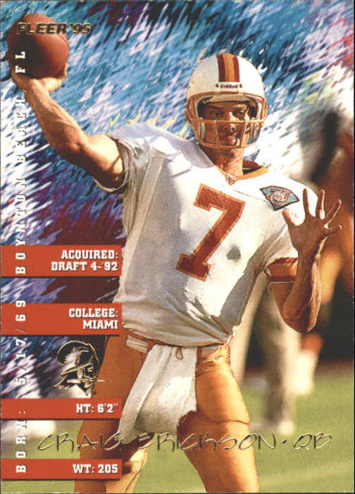 1995 Fleer #372 Craig Erickson