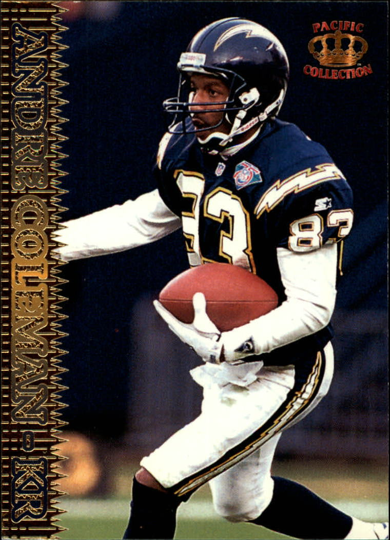 1995 Pacific #70 Andre Coleman