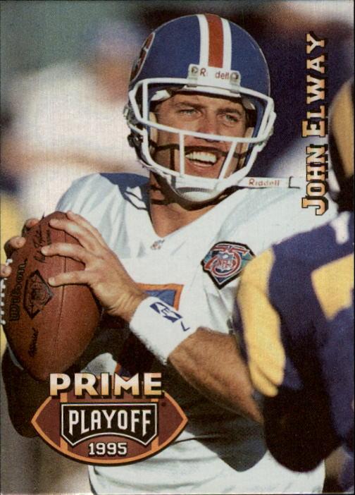 1995 Playoff Prime #1 John Elway