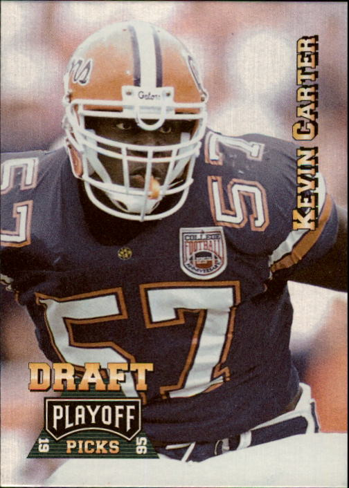 1995 Playoff Prime #185 Kevin Carter RC