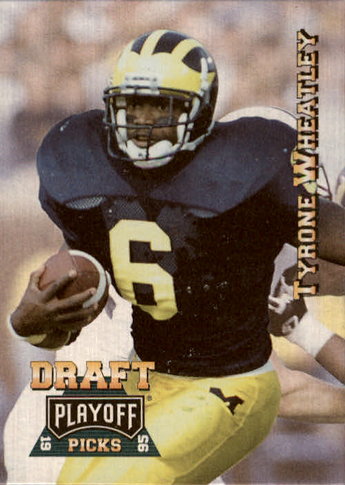 1995 Playoff Prime #191 Tyrone Wheatley RC