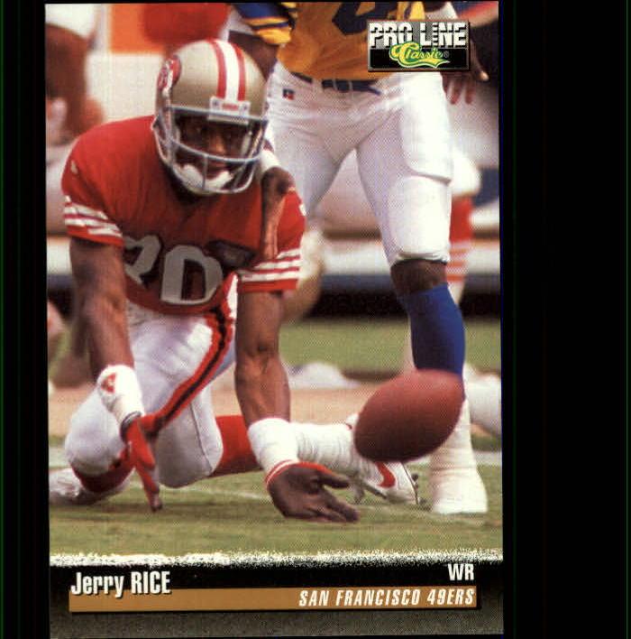 1995 Pro Line #139 Jerry Rice