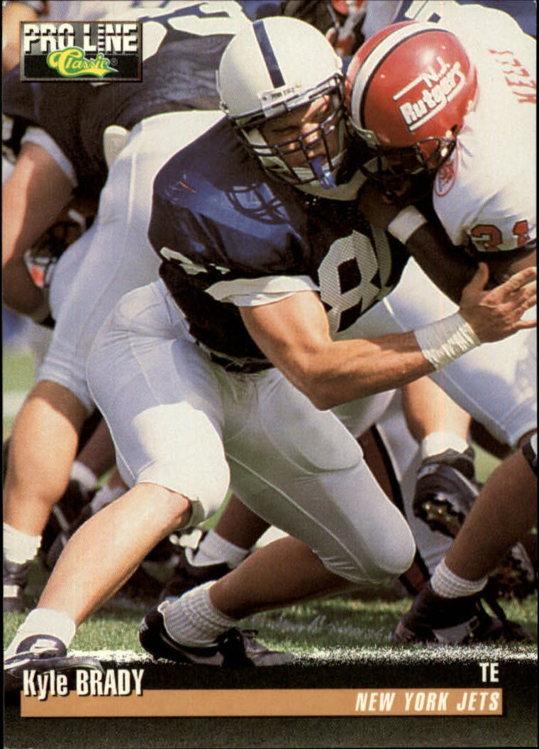 1995 Pro Line #282 Kyle Brady RC