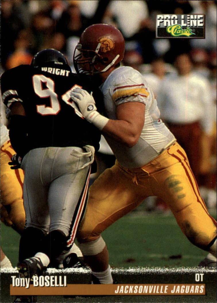 1995 Pro Line #284 Tony Boselli RC