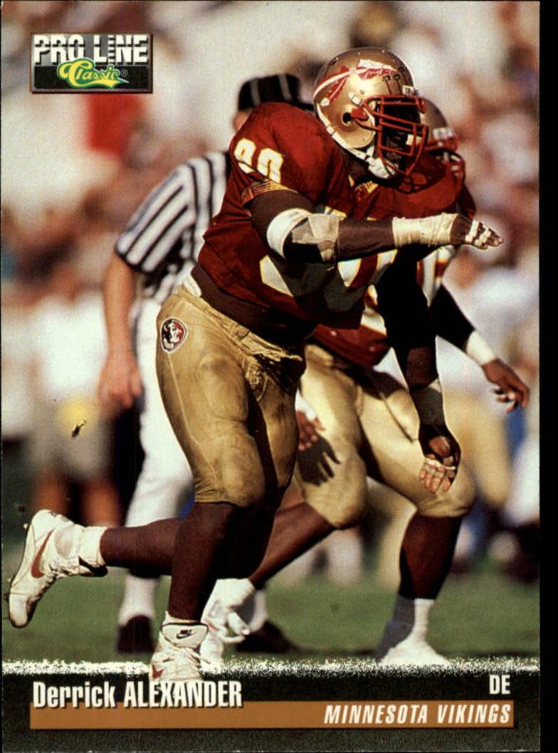 1995 Pro Line #323 Derrick Alexander DE RC