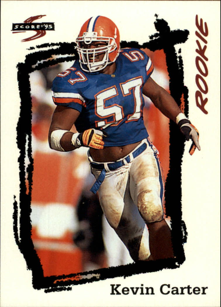 1995 Score #247 Kevin Carter RC