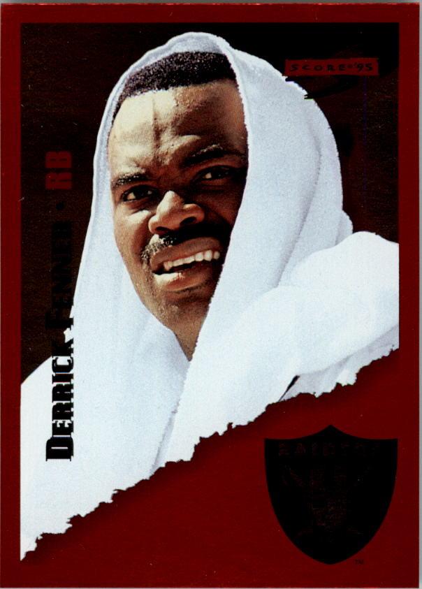 1995 Score Red Siege #127 Derrick Fenner