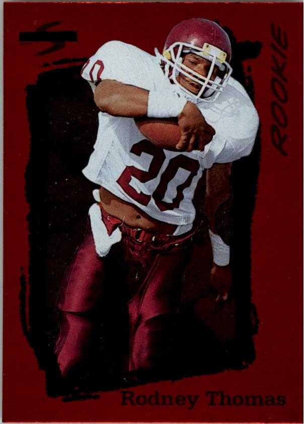 1995 Score Red Siege #252 Rodney Thomas