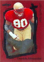 1995 Score Red Siege #254 Derrick Alexander DE