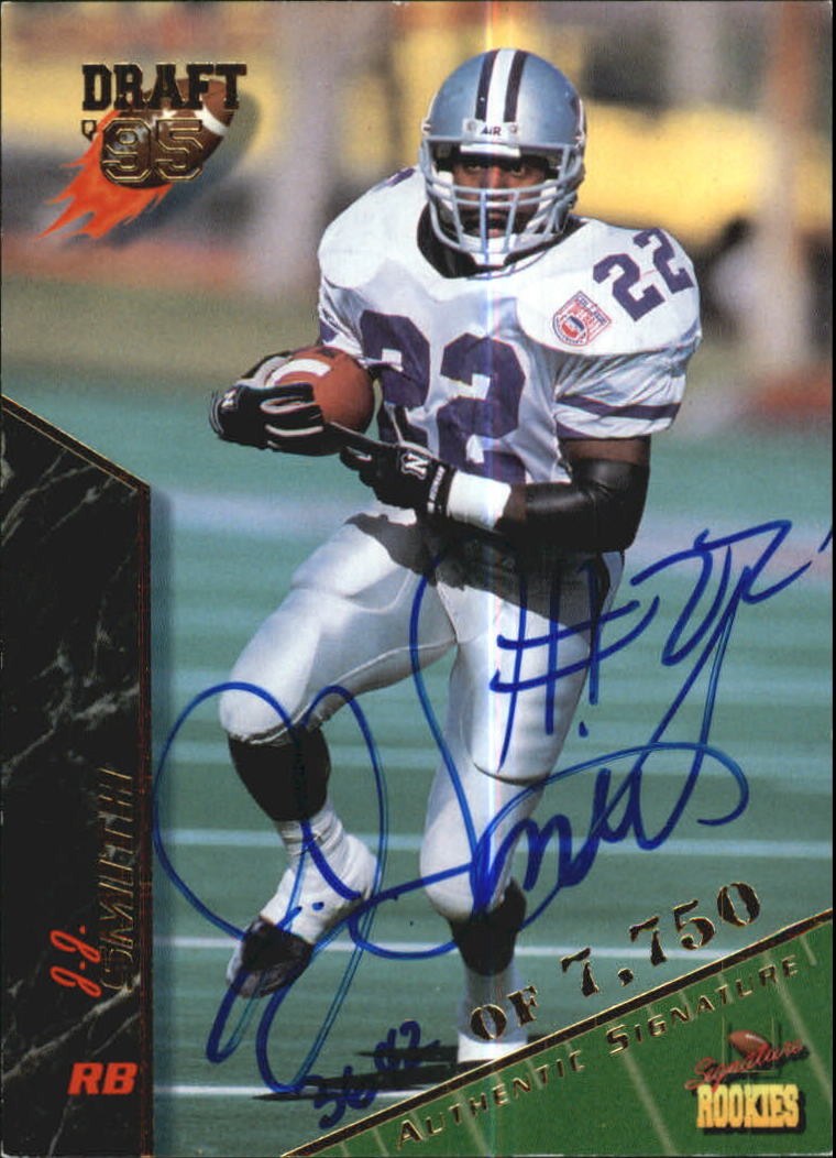 1995 Signature Rookies Autographs #63 J.J. Smith