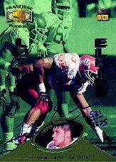 1995 Signature Rookies Franchise Rookies Autographs #R4 Luther Elliss/2575