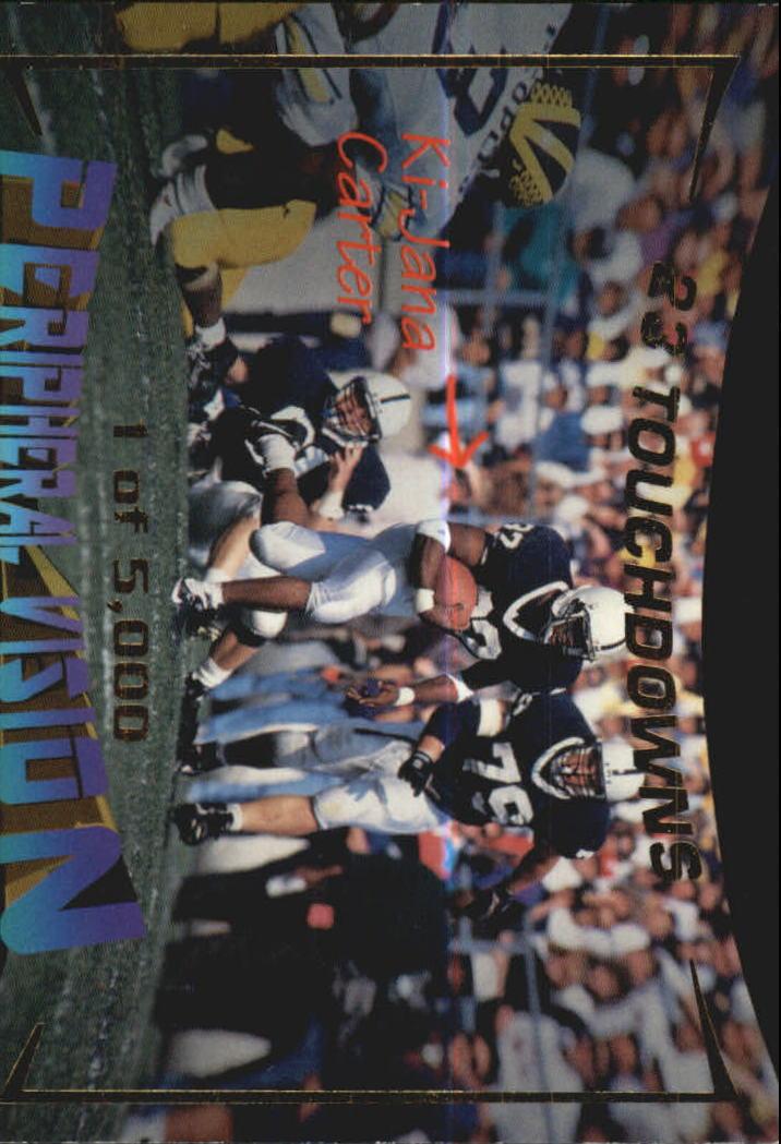 1995 Signature Rookies Peripheral Vision #V4 KI-Jana Carter