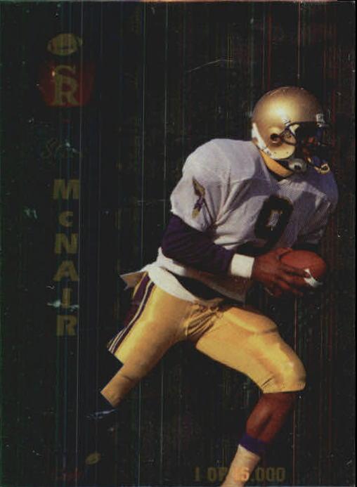 1995 Signature Rookies Signature Prime TD Club #T5 Steve McNair