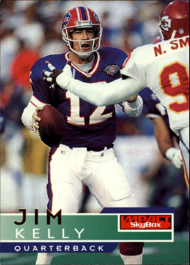 1995 SkyBox Impact #10 Jim Kelly