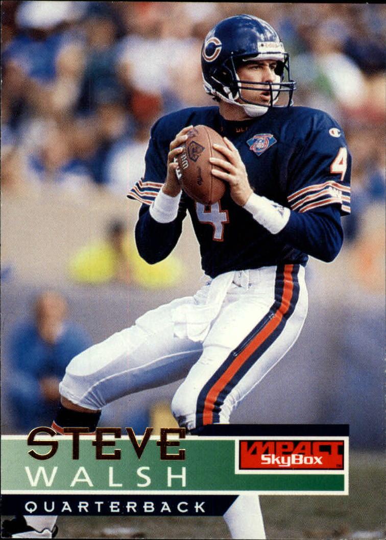 1995 SkyBox Impact #24 Steve Walsh