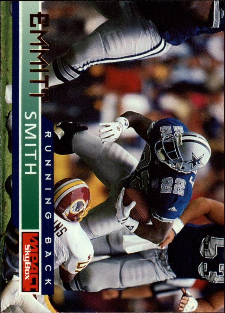 1995 SkyBox Impact #41 Emmitt Smith