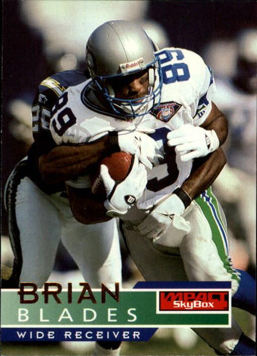 1995 SkyBox Impact #137 Brian Blades