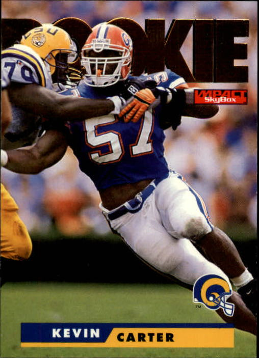 1995 SkyBox Impact #174 Kevin Carter RC