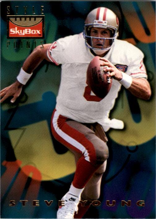 1995 SkyBox Premium #148 Steve Young/Favre