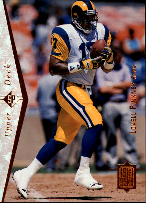 1995 SP #57 Lovell Pinkney RC