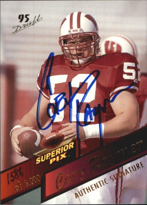 1995 Superior Pix #22 Cory Raymer