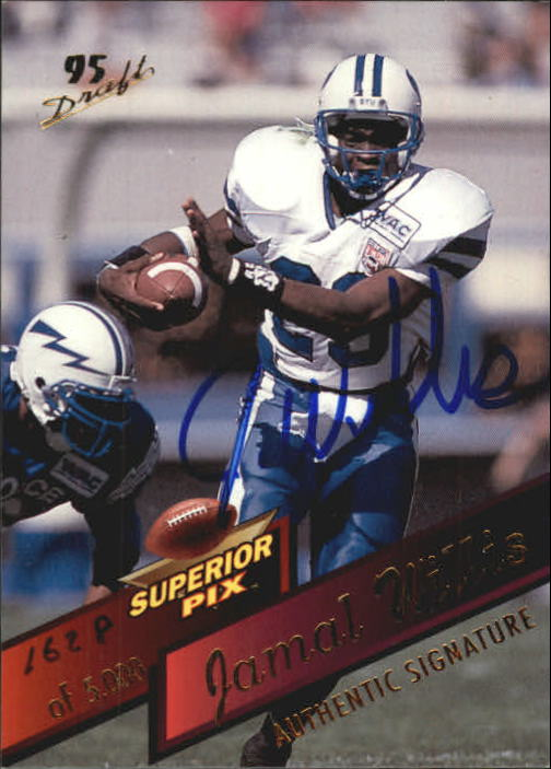 1995 Superior Pix Autographs #18 Jamal Willis/5000