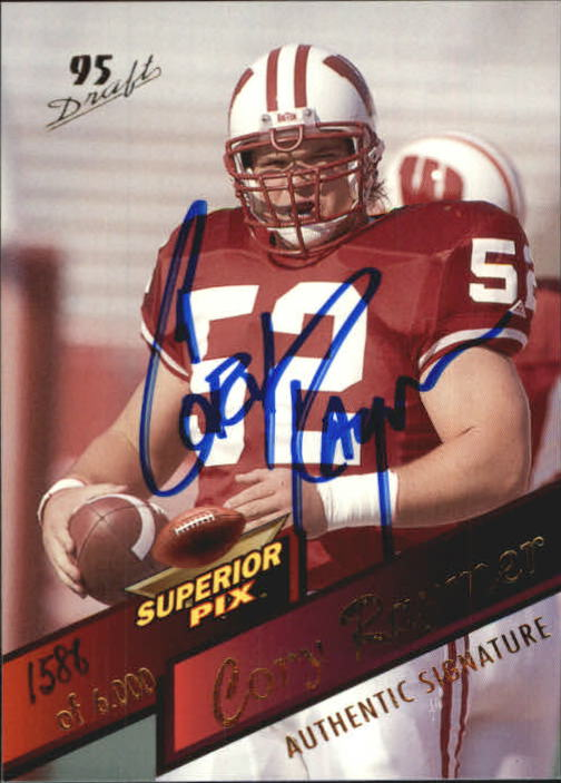 1995 Superior Pix Autographs #22 Cory Raymer/6000